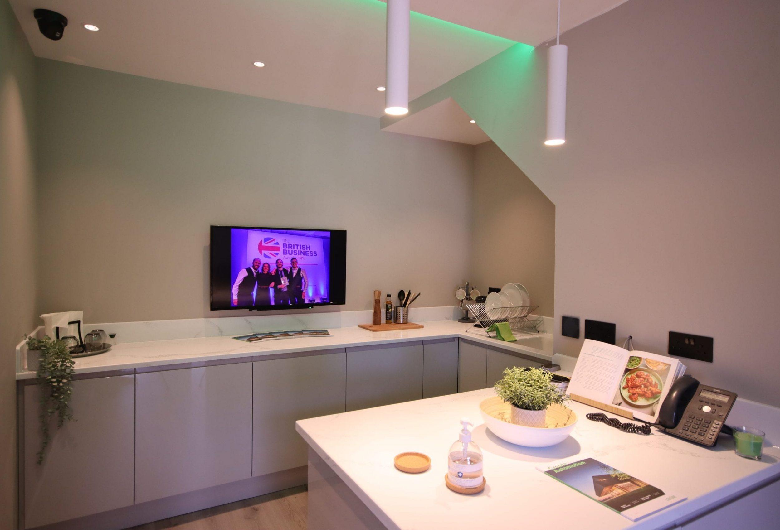 Ferndown Loxone Showroom - Kitchen